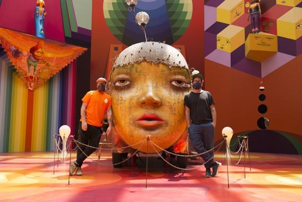 Expoisção OSGEMEOS: Segredos na Pinacoteca (Foto: Divulgação)