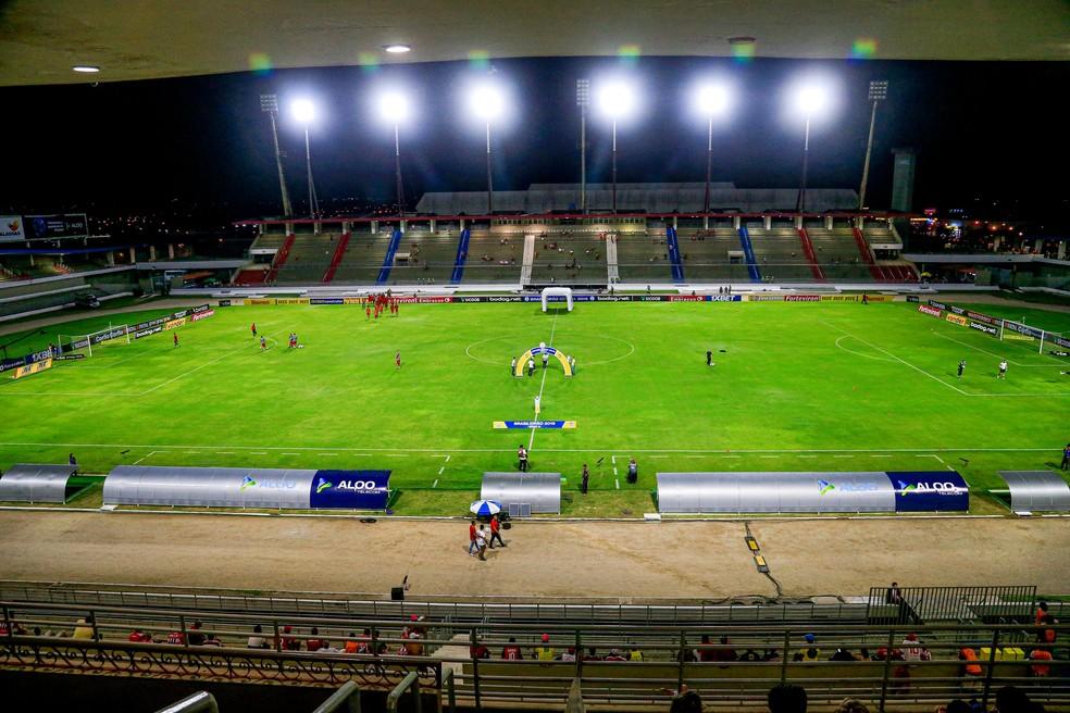 CRB recebe o América-MG no Estádio Rei Pelé — Foto: Ailton Cruz / Gazeta de Alagoas