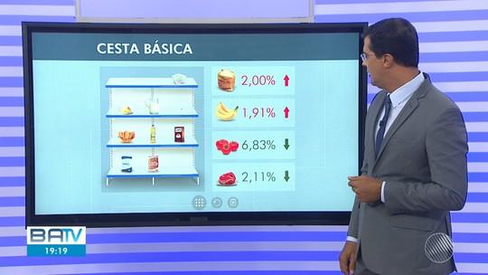 Salvador teve a cesta básica mais barata do país em fevereiro, segundo o Dieese