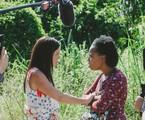 Adriana Esteves e Mariana Nunes gravam uma das cena finais dessa fase de 'Amor de mãe' | Isabella Pinheiro/ Gshow