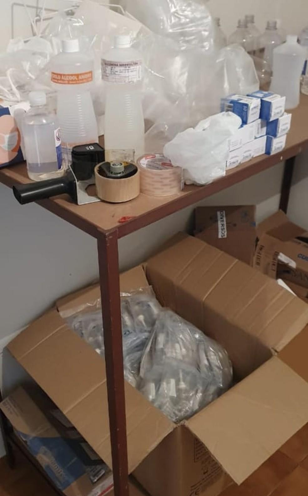 PF investiga oferta fraudulenta de 200 milhões de doses da vacina contra Covid-19 ao Ministério da Saúde — Foto: Polícia Federal/Divulgação