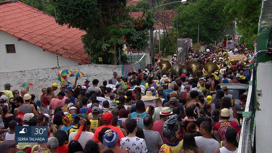 Bloco Munguzá de Zuza Miranda e Thaís recarrega 'baterias' de foliões em Olinda