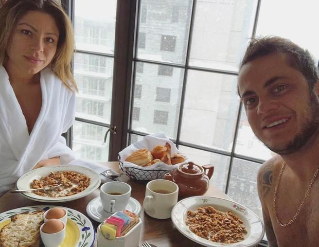 Andressa Ferreira e Thammy Miranda (Foto: Reprodução/Instagram)