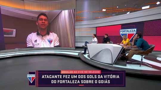 """Osvaldo fala em Libertadores no Fortaleza e diz torcer pelo Ceará: """"Bom para o estado"""""""