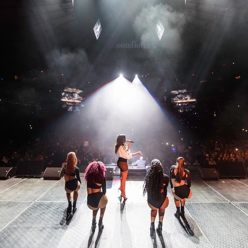 Anitta durante apresentação no Madison Square Garden (Foto: Reprodução/Instagram)