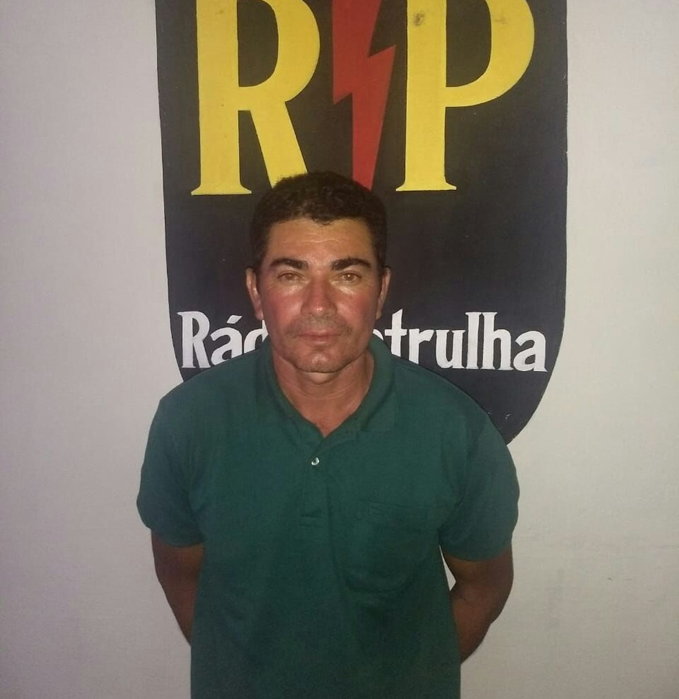 Pedreiro Marcondes Gomes da Silva, suspeito do desaparecimento de Iasmin Lorena, em Natal, foi preso no litoral potiguar — Foto: PM/Divulgação