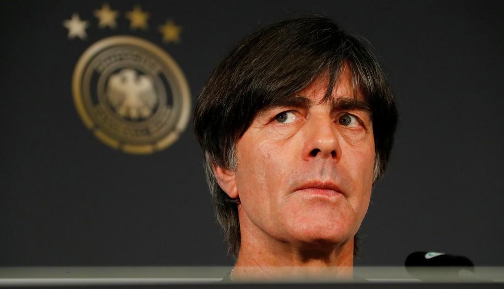 """Jöachim Löw está preocupado com o futebol jogado na Bundesliga: """"A bola está mais no alto do que no chão"""" (Foto: Reuters)"""