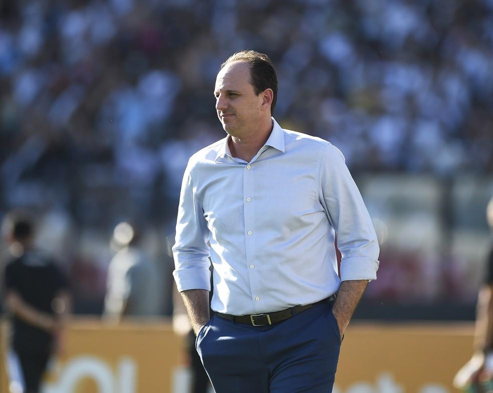 Rogerio Ceni no comando do Fortaleza — Foto: André Durão/GloboEsporte.com