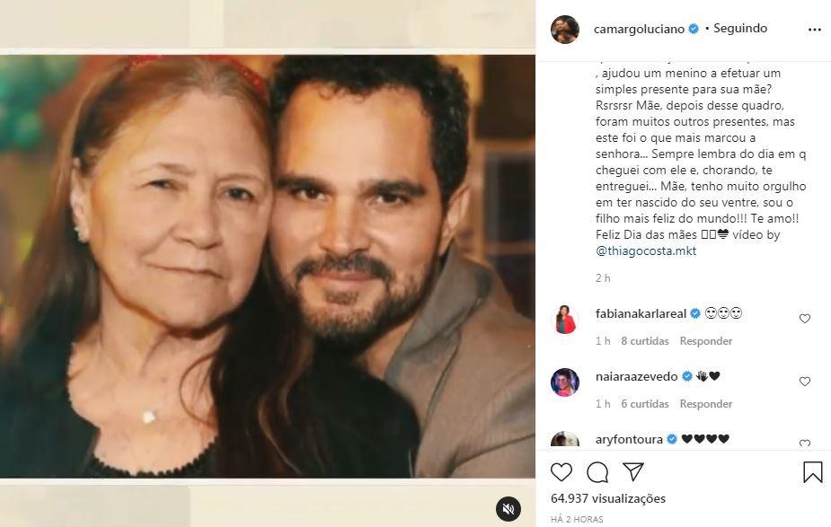 Luciano Camargo (Foto: Reprodução / Instagram)