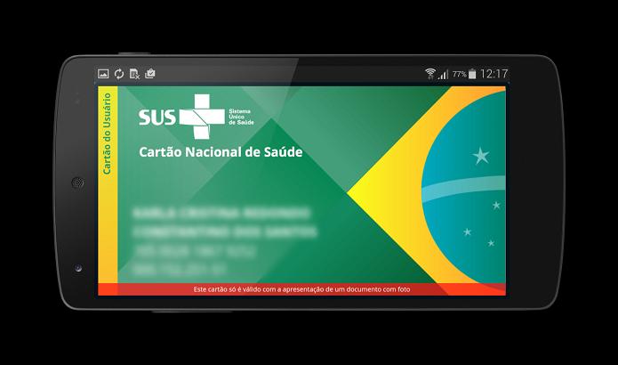 Cartão SUS Digital é bastante útil para muitos usuários (Foto: Divulgação/Ministério da Saúde)