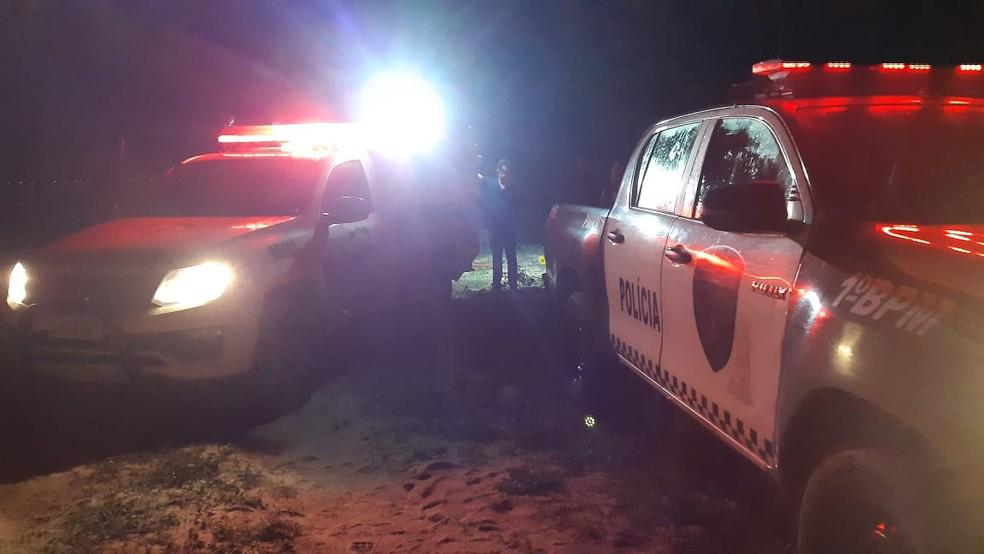 Crime aconteceu na tarde desta segunda-feira em São Gonçalo da Amarante — Foto: Sérgio Henrique Santos/Inter TV Cabugi