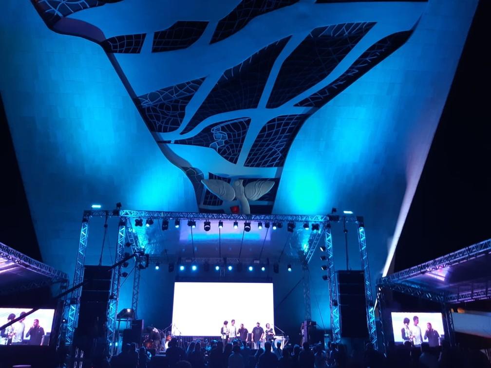 Lançamento do João Rock em Brasília (DF) — Foto: Dalton Almeida/EPTV
