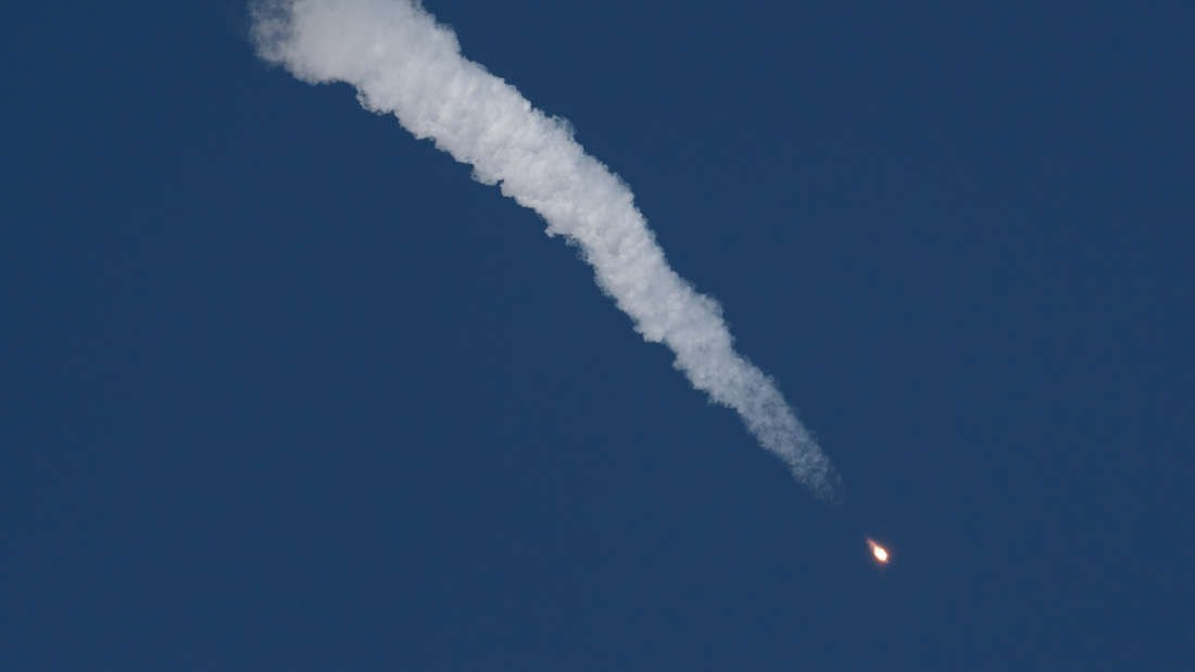Lançamento de foguete realizado em 11 de outubro quase terminou em tragédia (Foto: Divulgação)