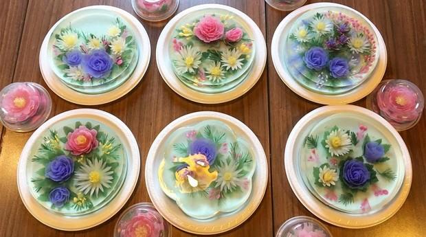 São várias opções de bolos (Foto: Reprodução/instagram/siewheng83)