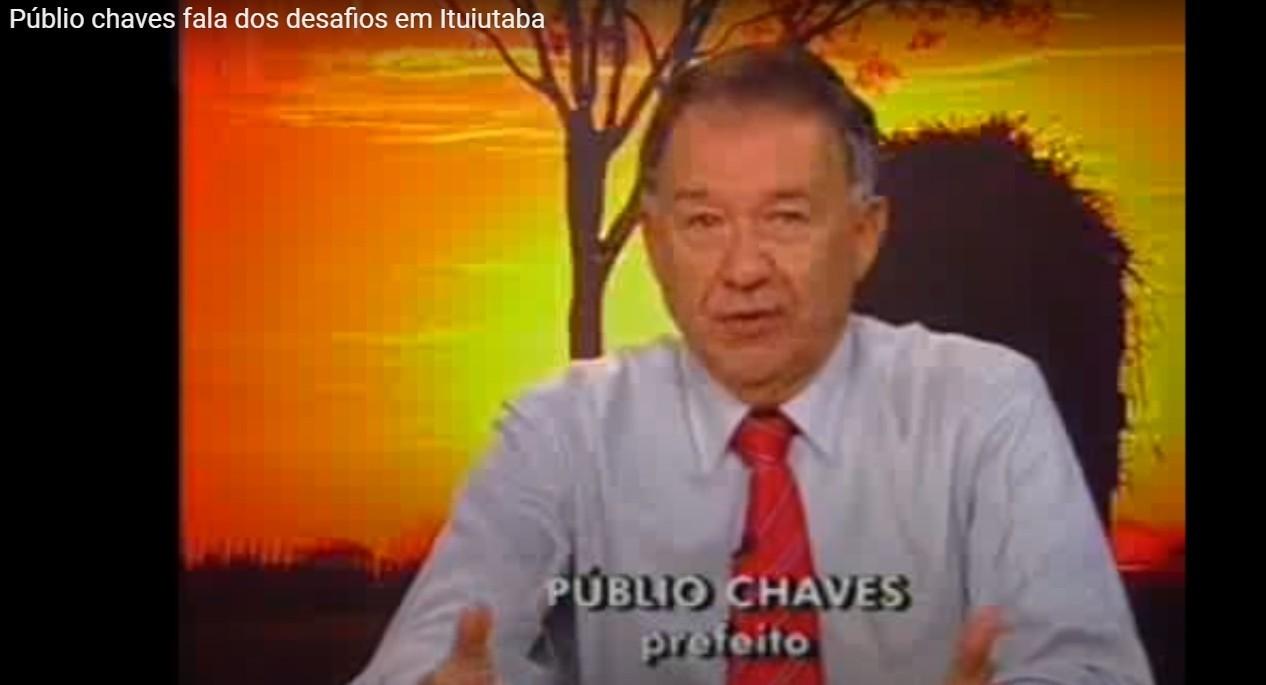 Morre Públio Chaves, ex-prefeito de Ituiutaba
