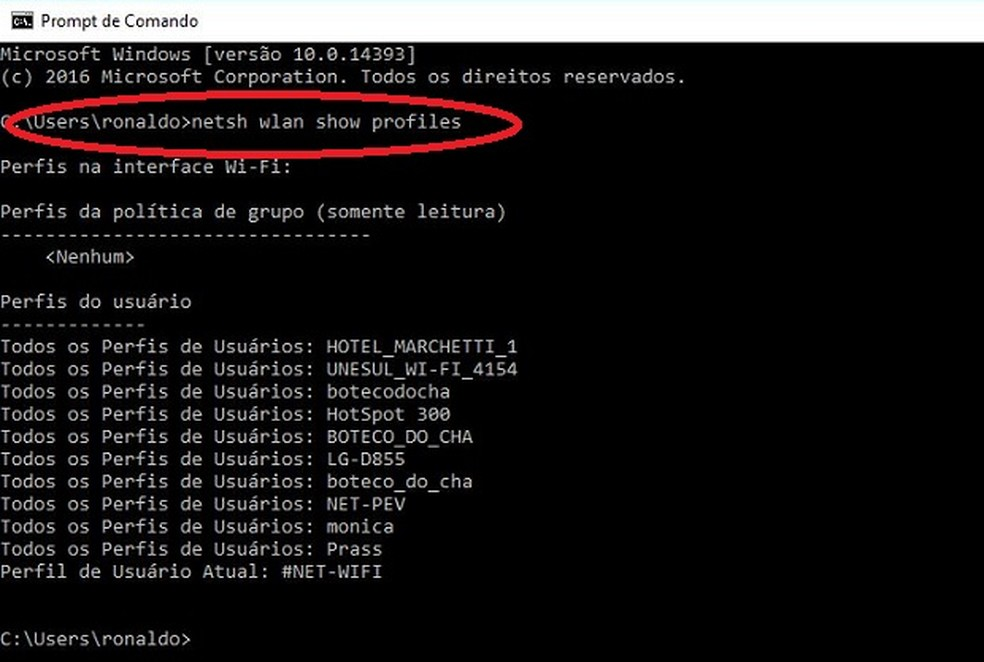 Como Descobrir A Senha Do Wi Fi Salva No Windows Blog Do