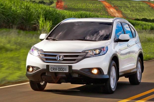 Honda CR-V EXL indicado já é o flex (Foto: Divulgação)