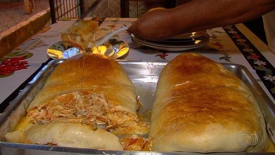 Veja receita de pão recheado que faz sucesso em Senador Canedo