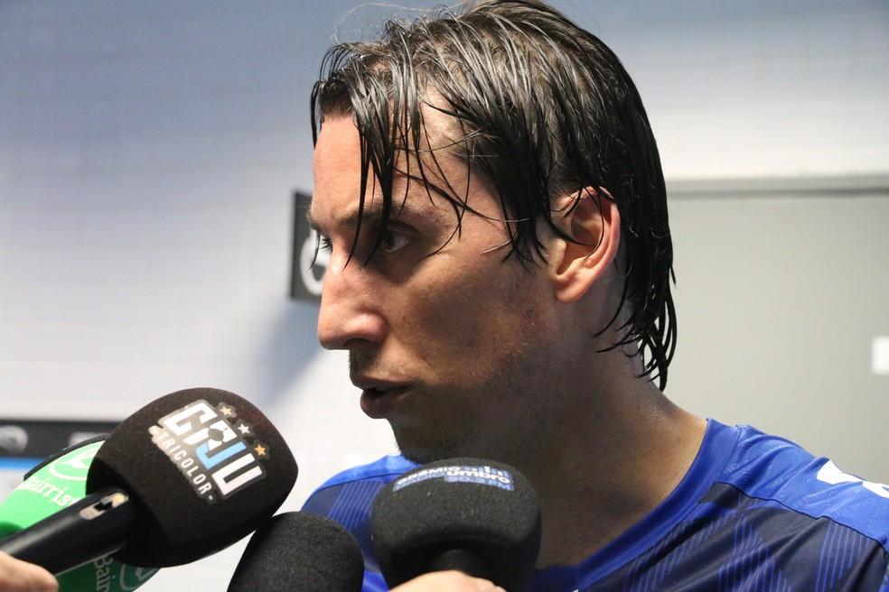 Pedro Geromel, zagueiro do Grêmio — Foto: Eduardo Moura