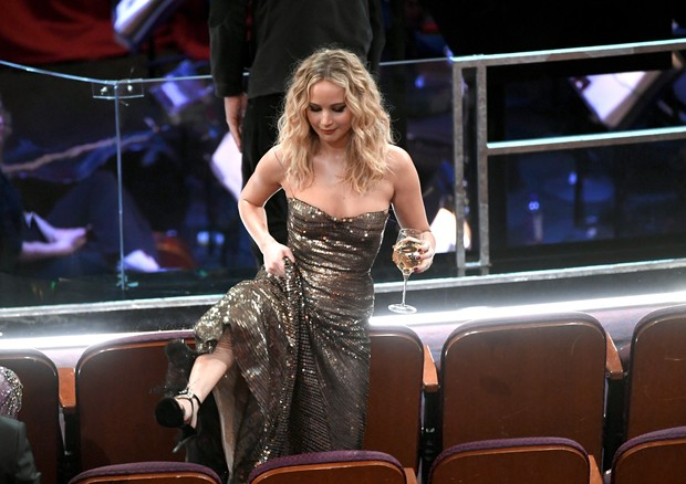 HOLLYWOOD, CA - MARCH 04:  Actor Jennifer Lawerence in the audience during the 90th Annual Academy Awards at the Dolby Theatre at Hollywood & Highland Center on March 4, 2018 in Hollywood, California.  (Photo by Kevin Winter/Getty Images) (Foto: Getty Images)