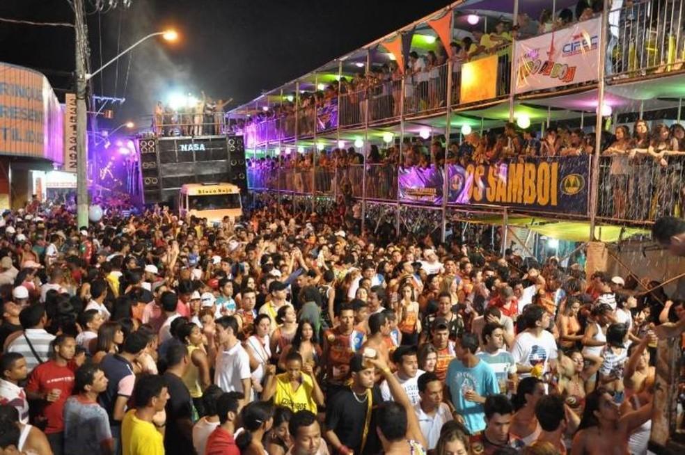Carnaval de Gurupi é um dos maiores do Tocantins (Foto: Cláudio Frascari/Divulgação)
