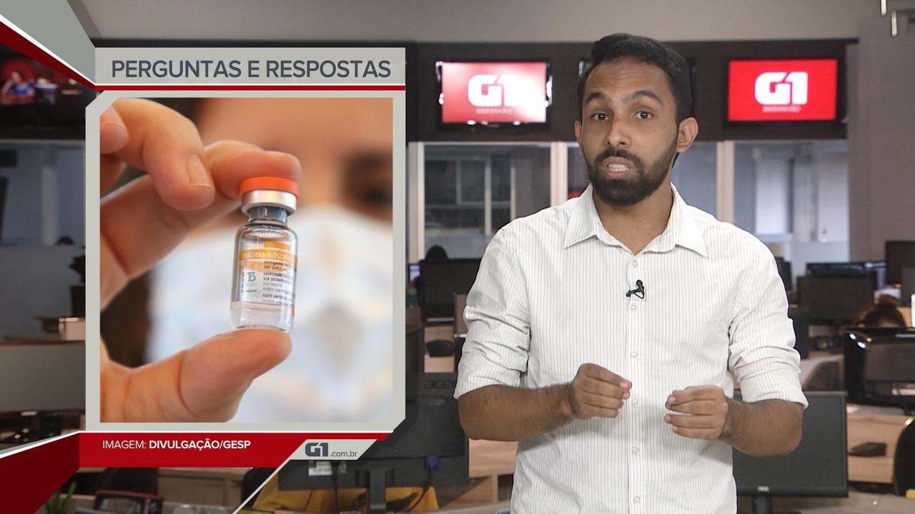 G1 em 1 Minuto: Com filas, São Luís inaugura Centro de Vacinação contra a Covid-19