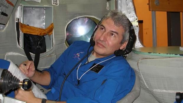 O astronauta Marcos Pontes participou da Missão Centenário, permanecendo por 10 dias a bordo da nave Soyuz  (Foto: Divulgação/Nasa)