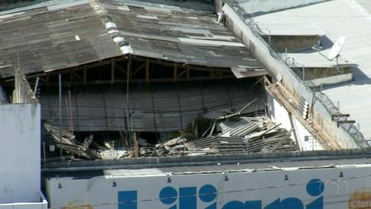 Polícia abre inquérito para investigar desabamento de loja em Araguaína