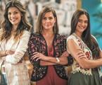 Vitória Strada, Deborah Secco e Juliana Paiva em 'Salve-se quem puder' | Paulo Belote