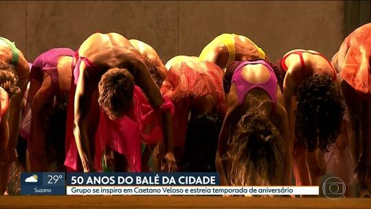 Balé da Cidade de SP comemora 50 anos com espetáculo sobre Caetano Veloso