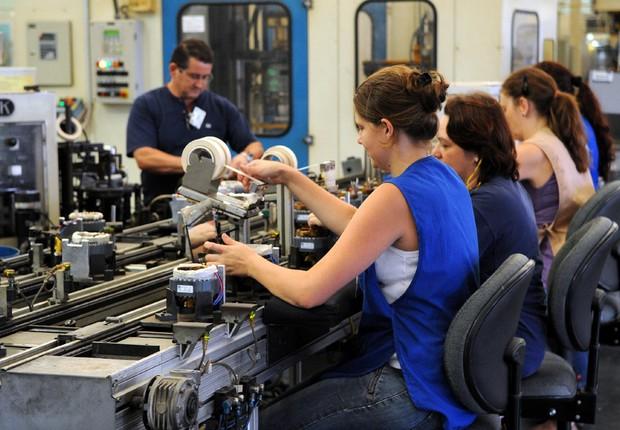 Indústria ; trabalho ; emprego ; produção industrial ; empregados ; trabalhadores ;  (Foto: Wilson Dias/Agência Brasil)