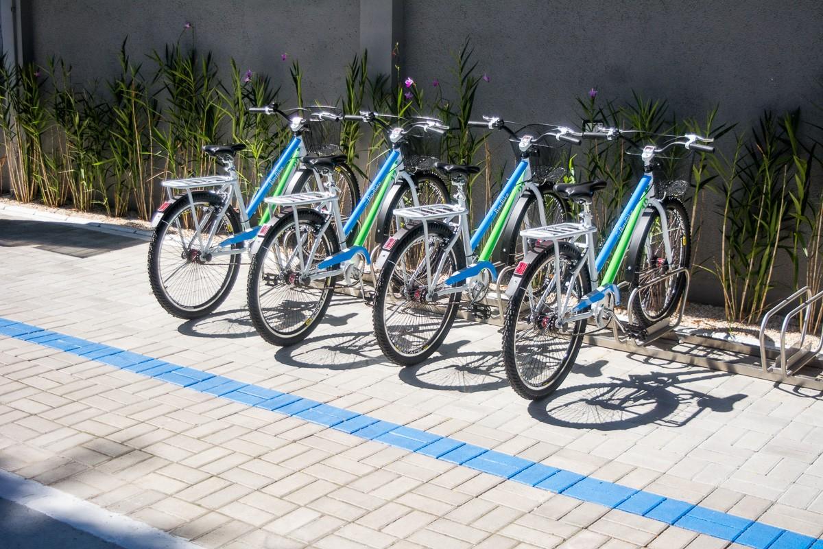 Bicicletas da Bayer (Foto: Divulgação)