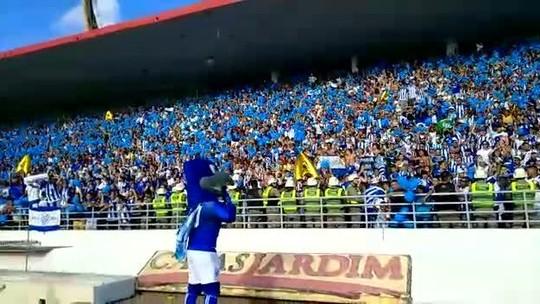 Torcida do CSA dá show e bate recorde de público no Estádio Rei Pelé em 2018