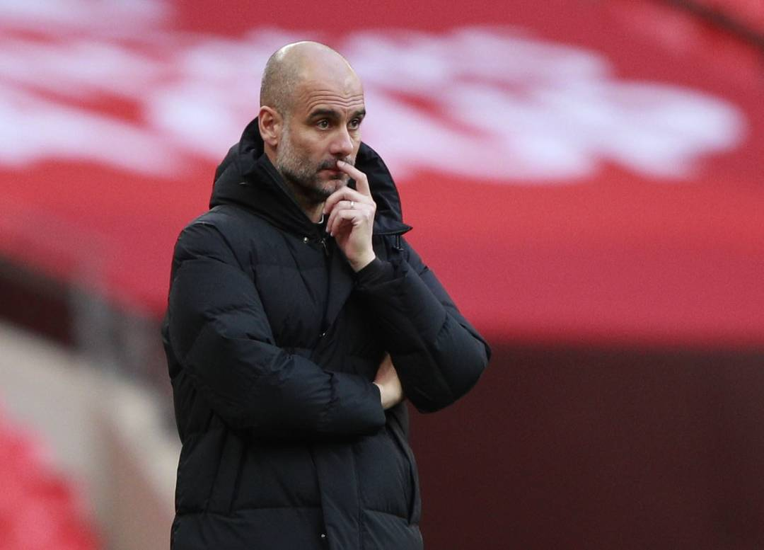 Guardiola, técnico do Manchester City