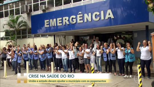 Defensoria e MP pedem criação de gabinete de crise na saúde do Rio