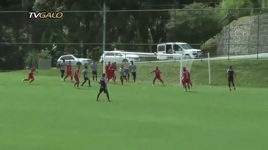 Blanco e Maidana marcam, e Atlético-MG vence teste antes de estreia no Mineiro