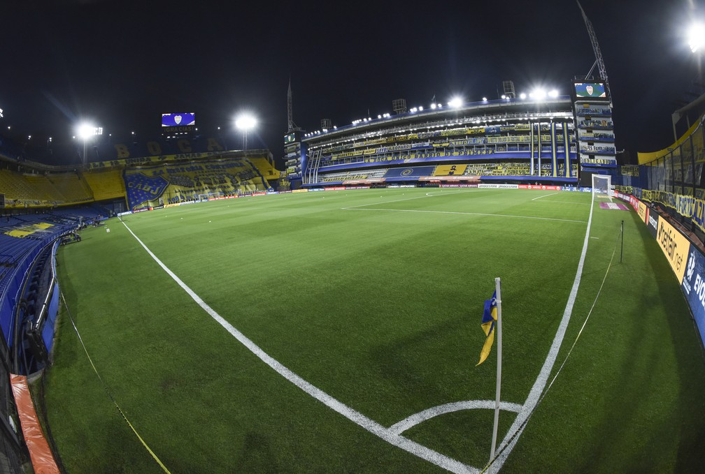 Bombonera, estádio do Boca Juniors — Foto: REUTERS/Marcelo Endelli