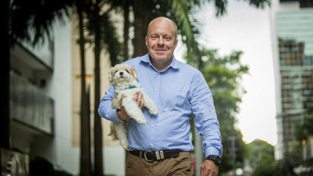 John Van Wyk, presidente da Royal Canin no Brasil: pets não devem ser tratados como humanos (Foto: Anna Carolina Negri)