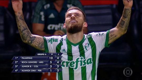 Veja gols desta quarta pela Libertadores e Copa do Brasil