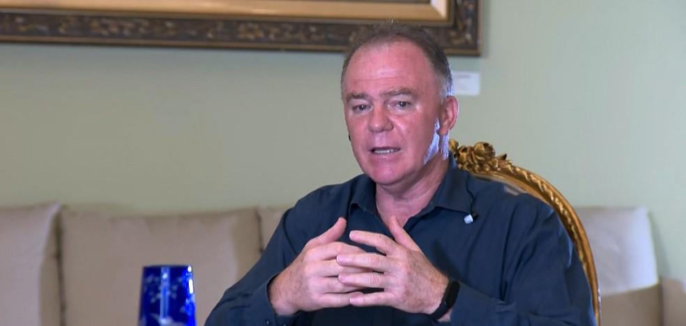 Governador Renato Casagrande — Foto: Reprodução/TV Gazeta