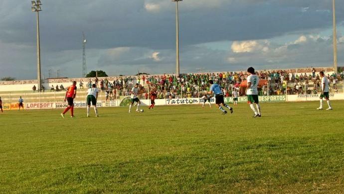 Assu x Globo FC, no Estádio Edgarzão (Foto: Divulgação/Assu)