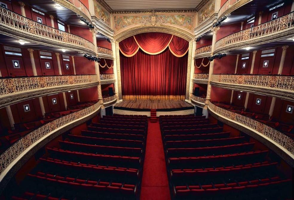 Teatro de Santa Isabel fica no bairro de Santo Antônio, no Centro do Recife (Foto: Marcelo Lyra/Divulgação)