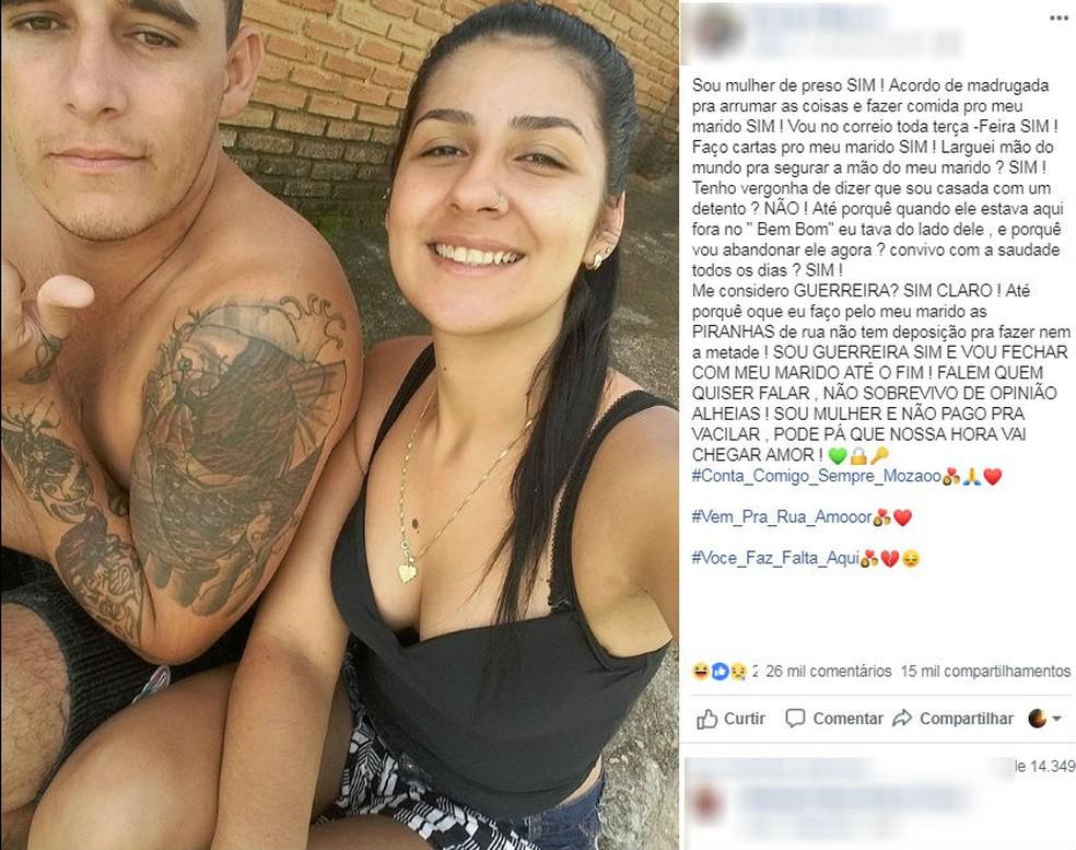 Polícia apura redes sociais de vítima com suspeito — Foto: Reprodução/Facebook