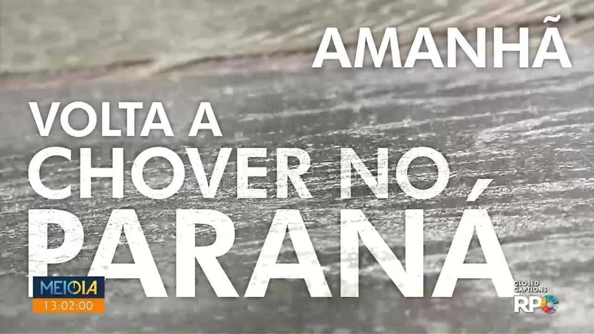 Previsão é de tempestades no Paraná no sábado (23)
