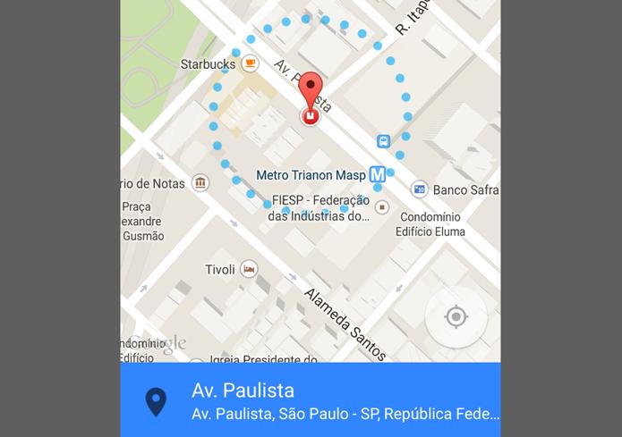 Android 5.0 desbloqueia a tela dependendo da localização do usuário (Foto: Reprodução/Paulo Alves)