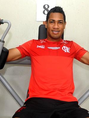 Hernane busca meta ousada para 2013: Quero ser artilheiro no Fla