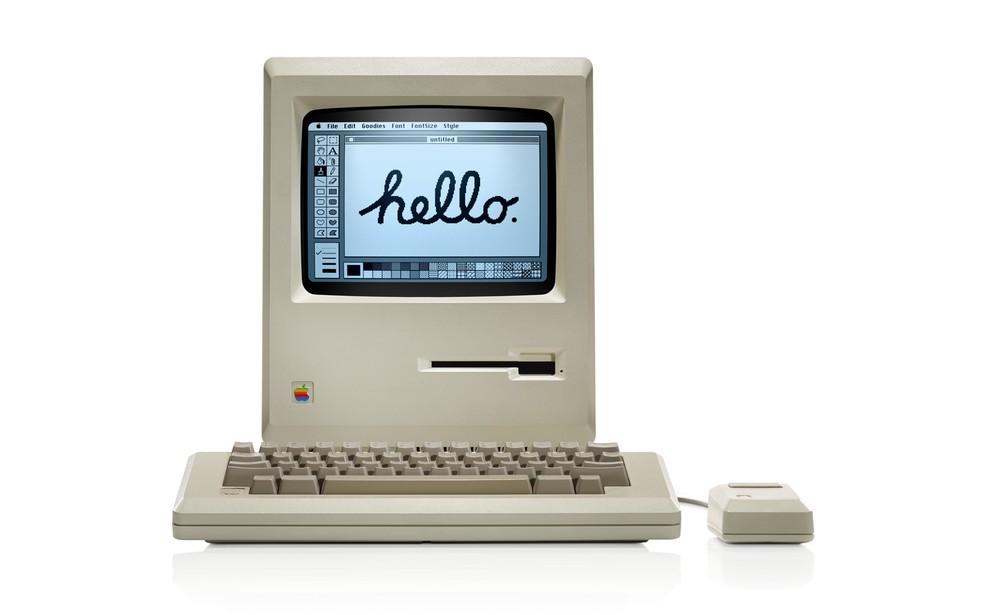 Apple Macintosh tinha apenas 128 KB de memória RAM (Foto: Divulgação/Apple)