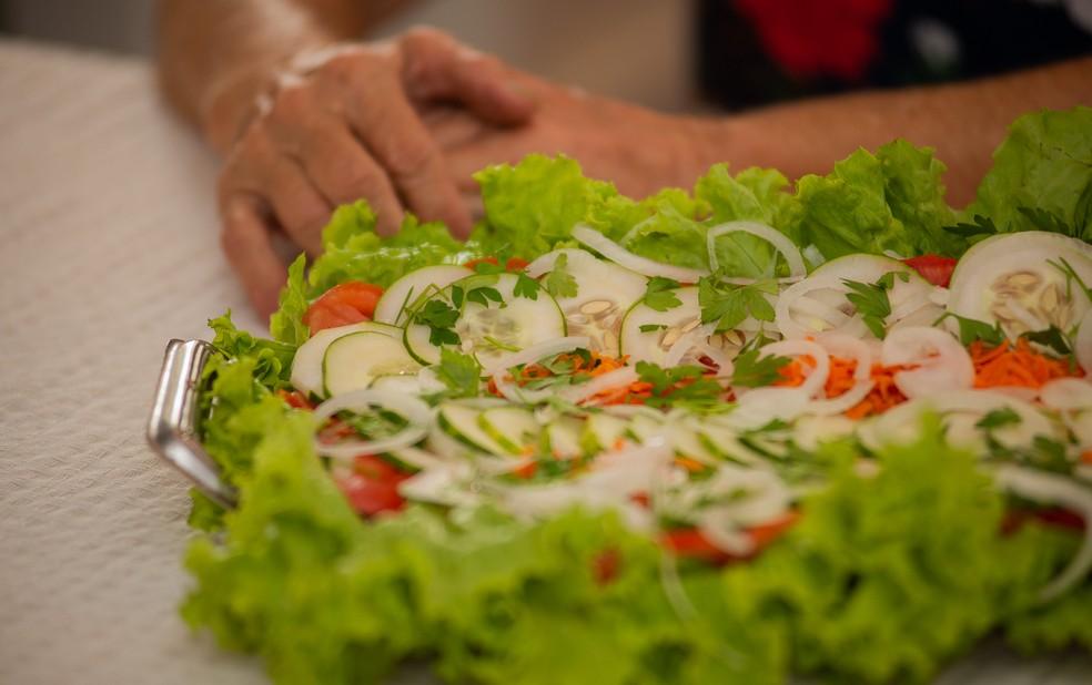 Salada mais cara 2020 — Foto: Érico Andrade/G1