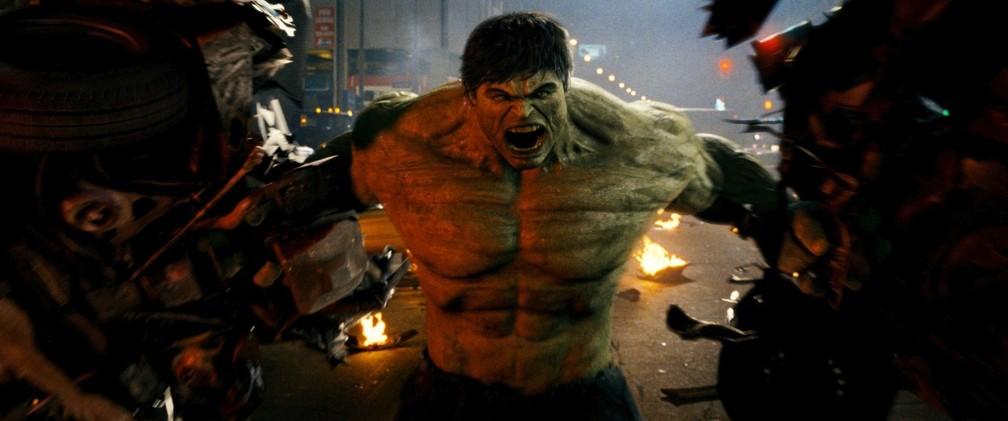 Edward Norton interpretou o herói monstruoso em 'O incrível Hulk' (Foto: Divulgação)