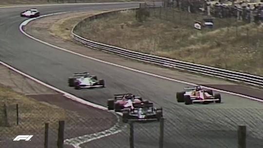 Relembre: as vitórias heroicas de Villeneuve e Maldonado no GP da Espanha